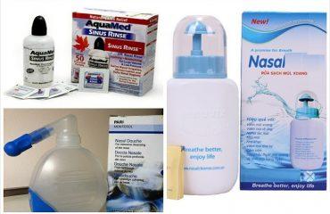 Bình xịt rửa mũi dùng cho đúng