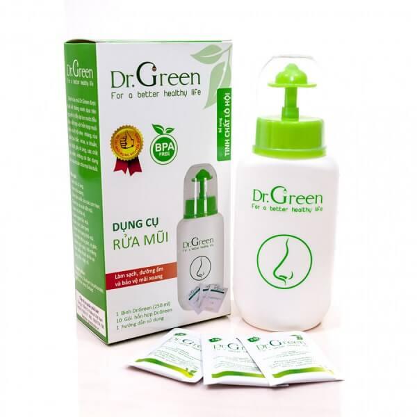 Bình rửa mũi cho trẻ Dr Green