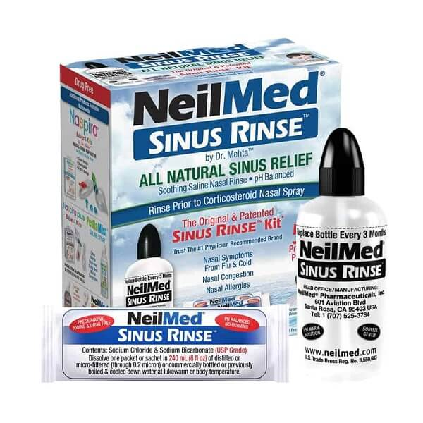 Bình rửa mũi cho bé NeiMed