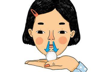 màu nước mũi đoán bệnh