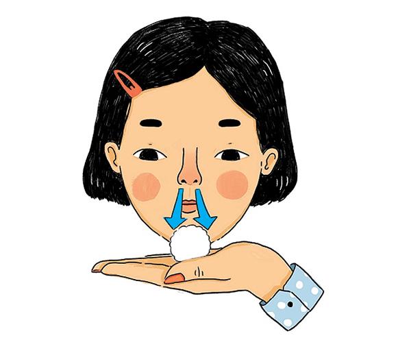 dịch mũi màu trắng là bệnh lý nhẹ