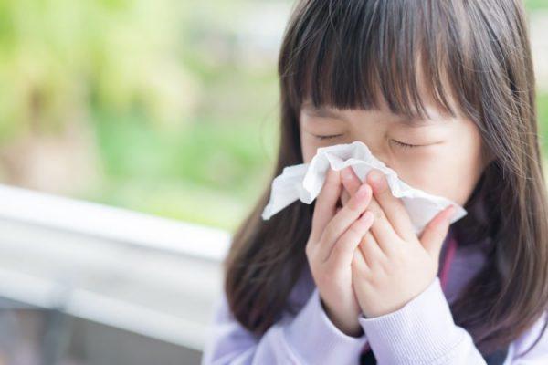 dấu hiệu trẻ bị cúm a