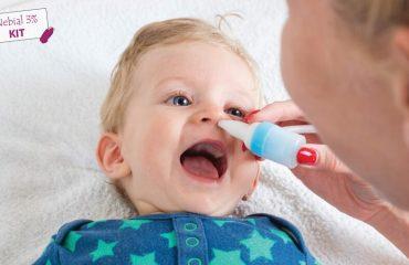nhỏ mũi cho trẻ sơ sinh ngày mấy lần