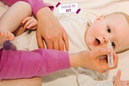 các loại nước muối sinh lý cho trẻ sơ sinh