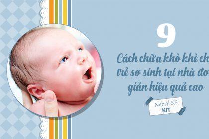 cách chữa khò khè cho trẻ sơ sinh tại nhà