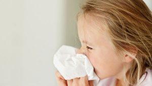 nước mũi có mùi hôi ở trẻ em